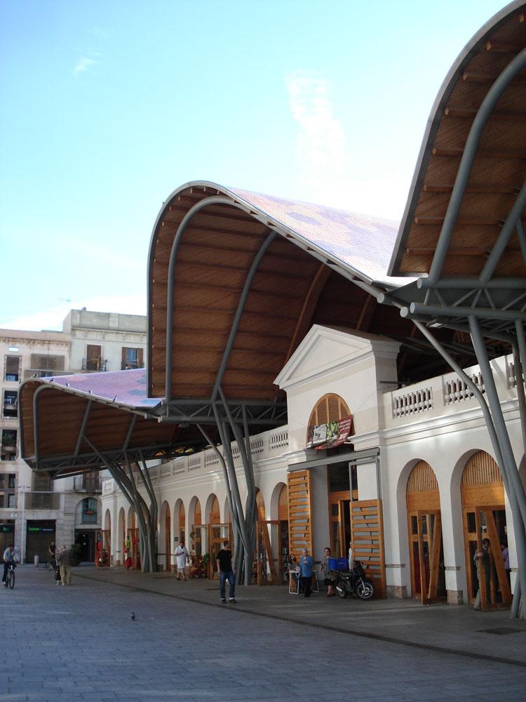 Santa Caterina markthal in Barcelona. Foto: Janneska Spoelman