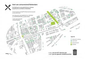 Het hart van consumerend Rotterdam
