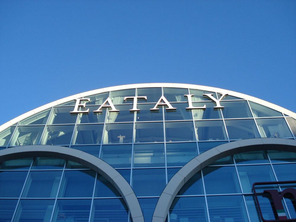 Eataly Rome, exterieur. Foto: Janneska Spoelman