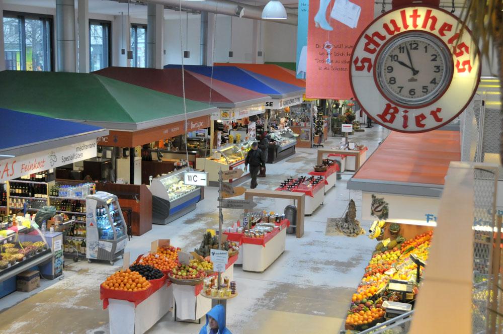 Berlijnse markthallen nieuwe stijl