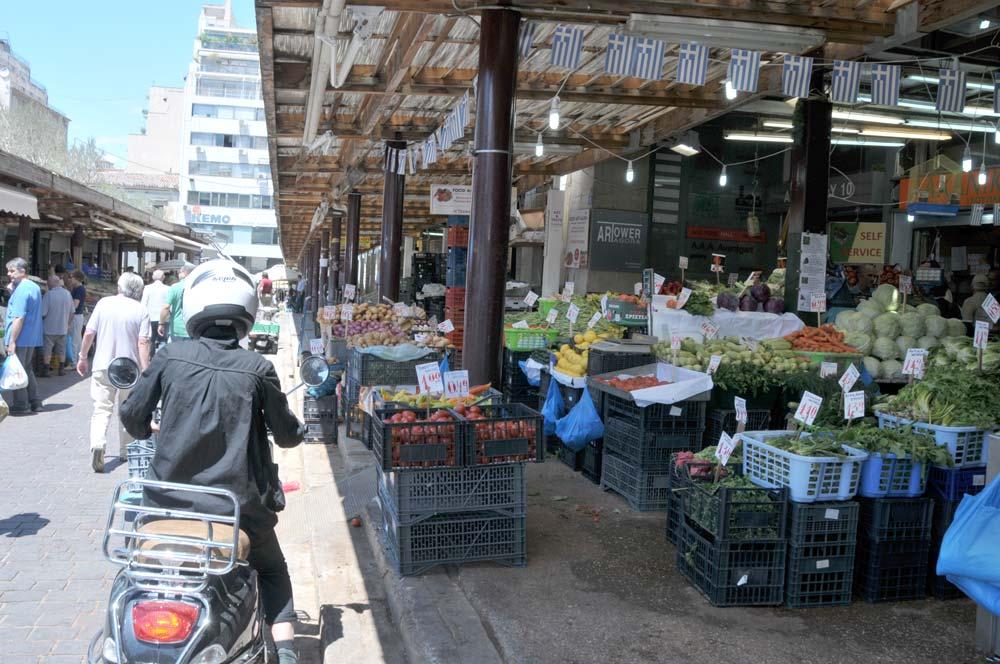 Athene – de markt als bakermat en centrum van de wereld