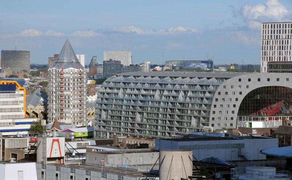 Rotterdamse Markthal, september 2014. Foto Merten Nefs