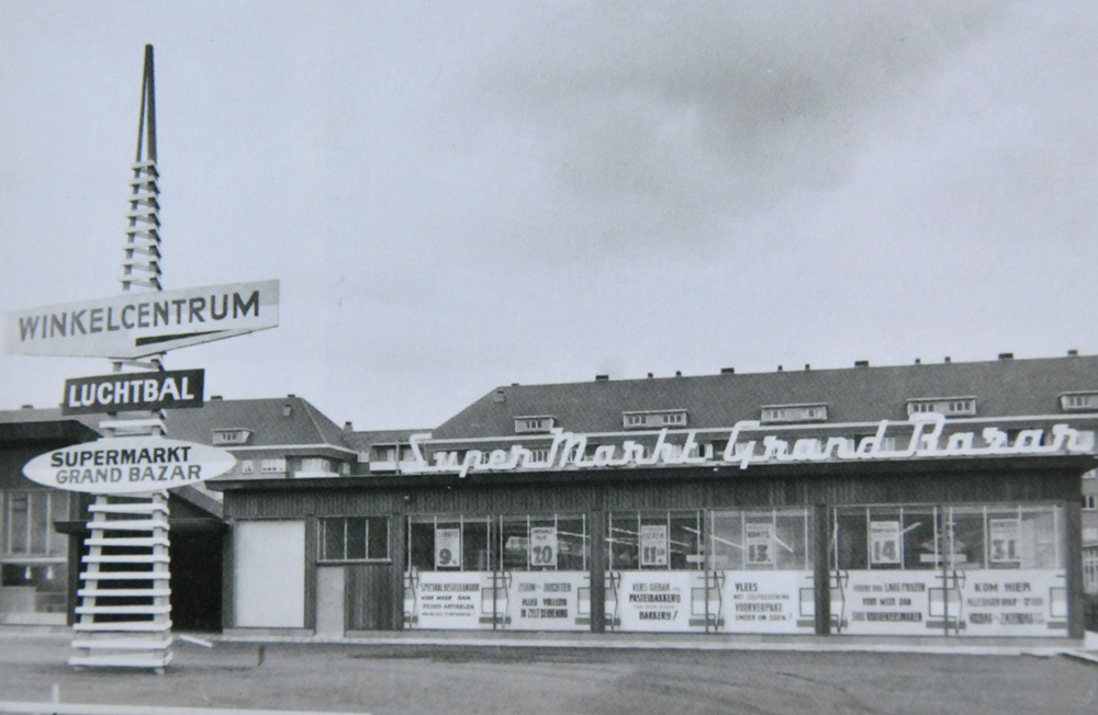 Grand Bazar Luchtbal 1958